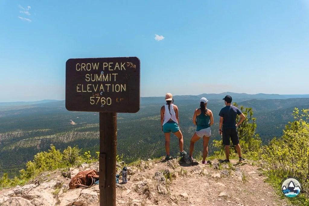 Things to do Black Hills South Dakota Crow Peak