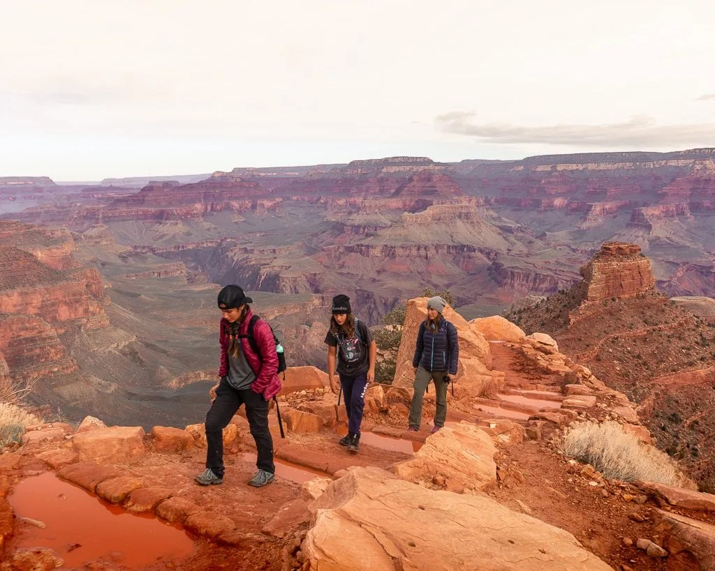 Spring hiking in Grand Canyon