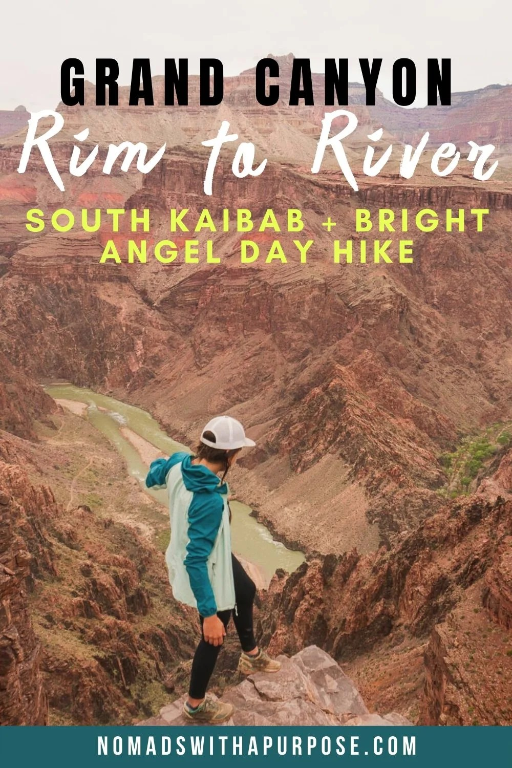 Grand Canyon Rim to River: South Kaibab + Bright Angel Day Hike