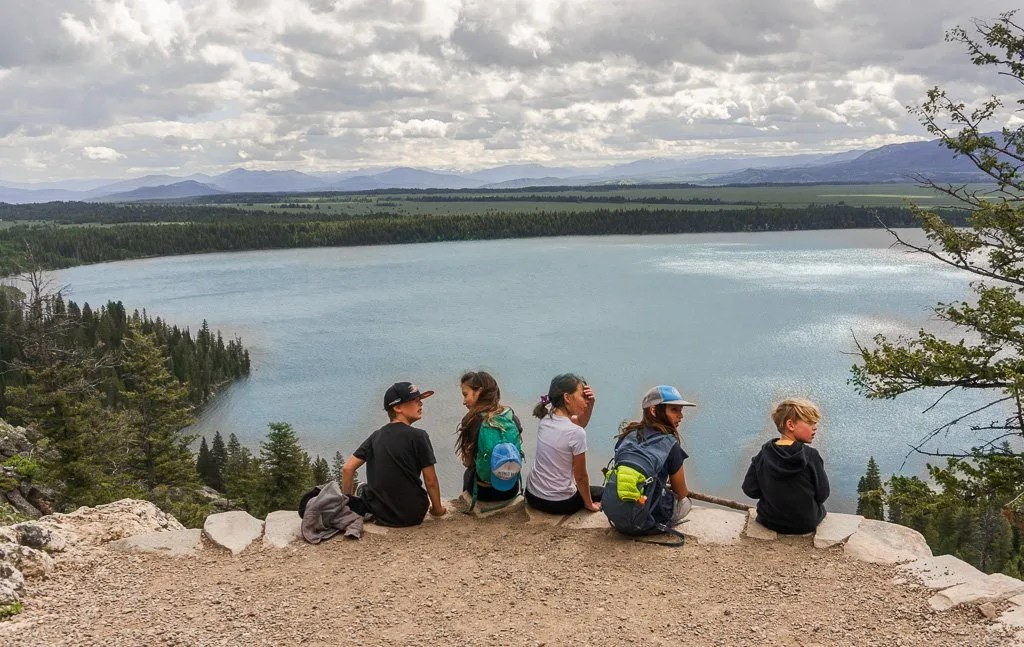 Grand Teton to Yellowstone to Glacier National Parks Road Trip Inspiration Point
