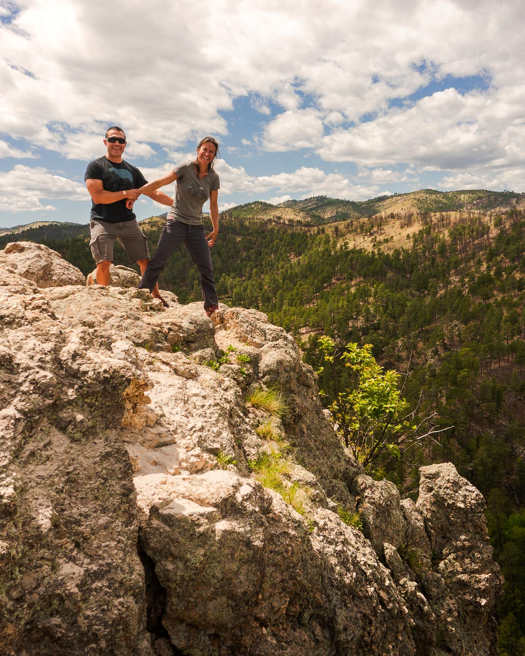 Lovers Leap Hike in the Black Hills