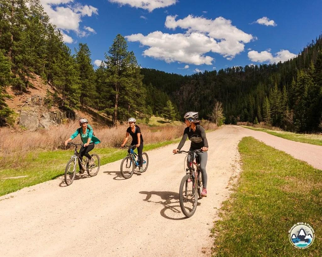 Things to do Black Hills South Dakota Biking