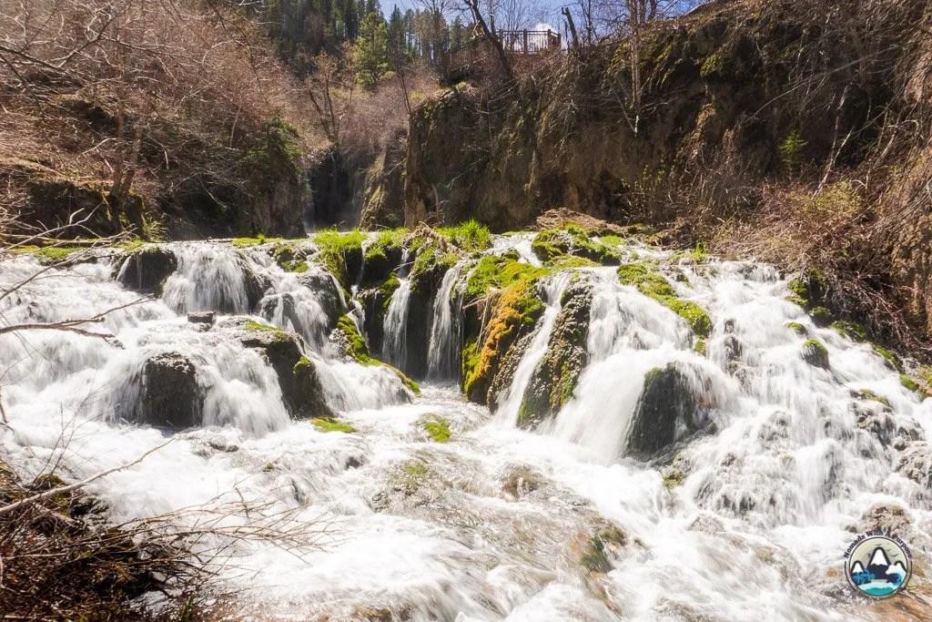 Things to do Black Hills South Dakota Roughlock Falls