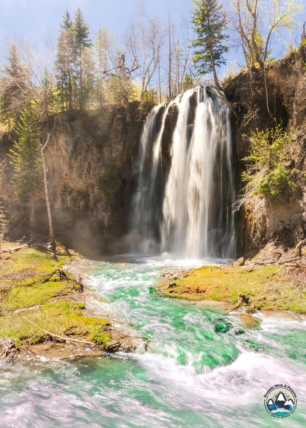 Things to do Black Hills South Dakota Spearfish Falls