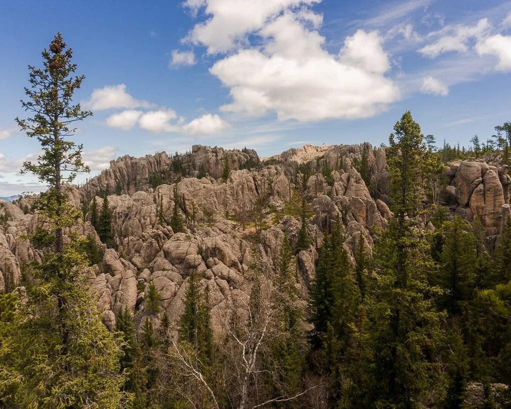 Black Elk peak viewpoint, Sylvan Lake, hiking