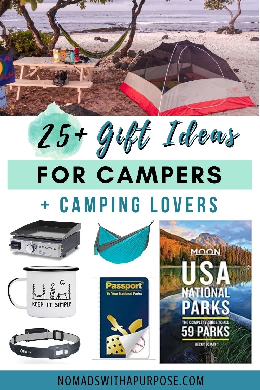 Gift Ideas For Campers And Camping Lovers