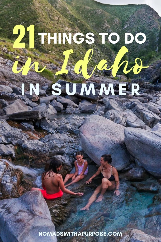 summer things to do idaho