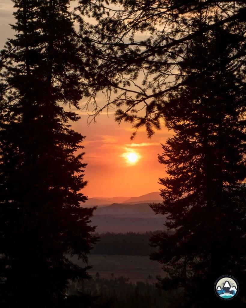 Sunrise, Lupine Meadows Trail/Garnet Canyon TRAil