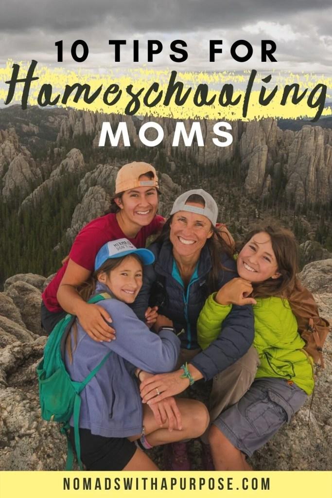 10 Tips for Homeschooling Moms