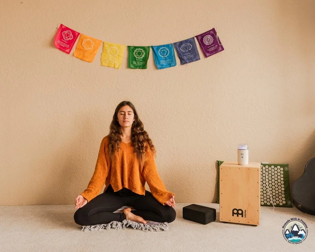 Sukhasana Pose for Meditation