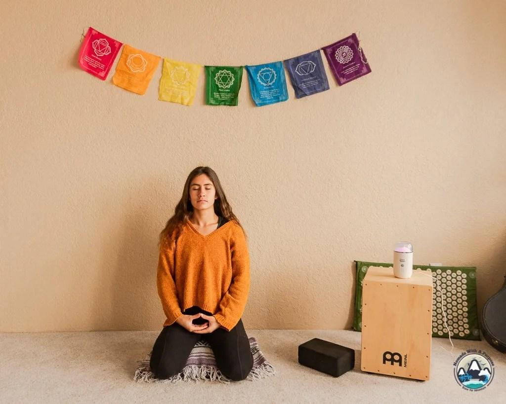 Virasana Pose for Meditation