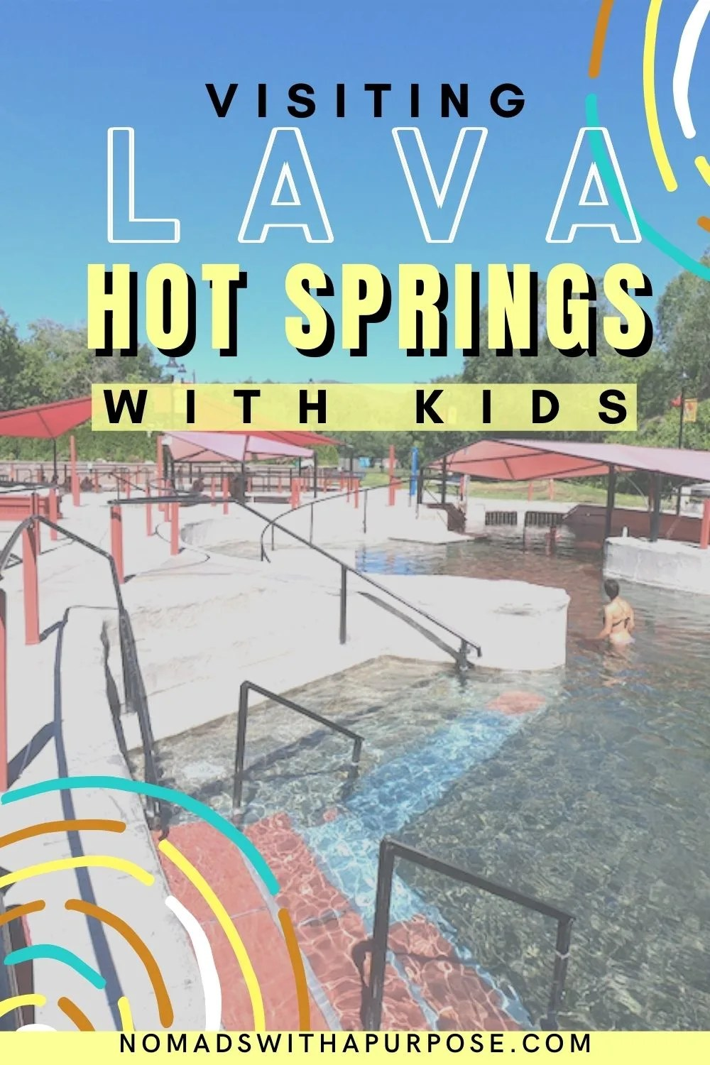 visiting Lava Hot Springs With Kids