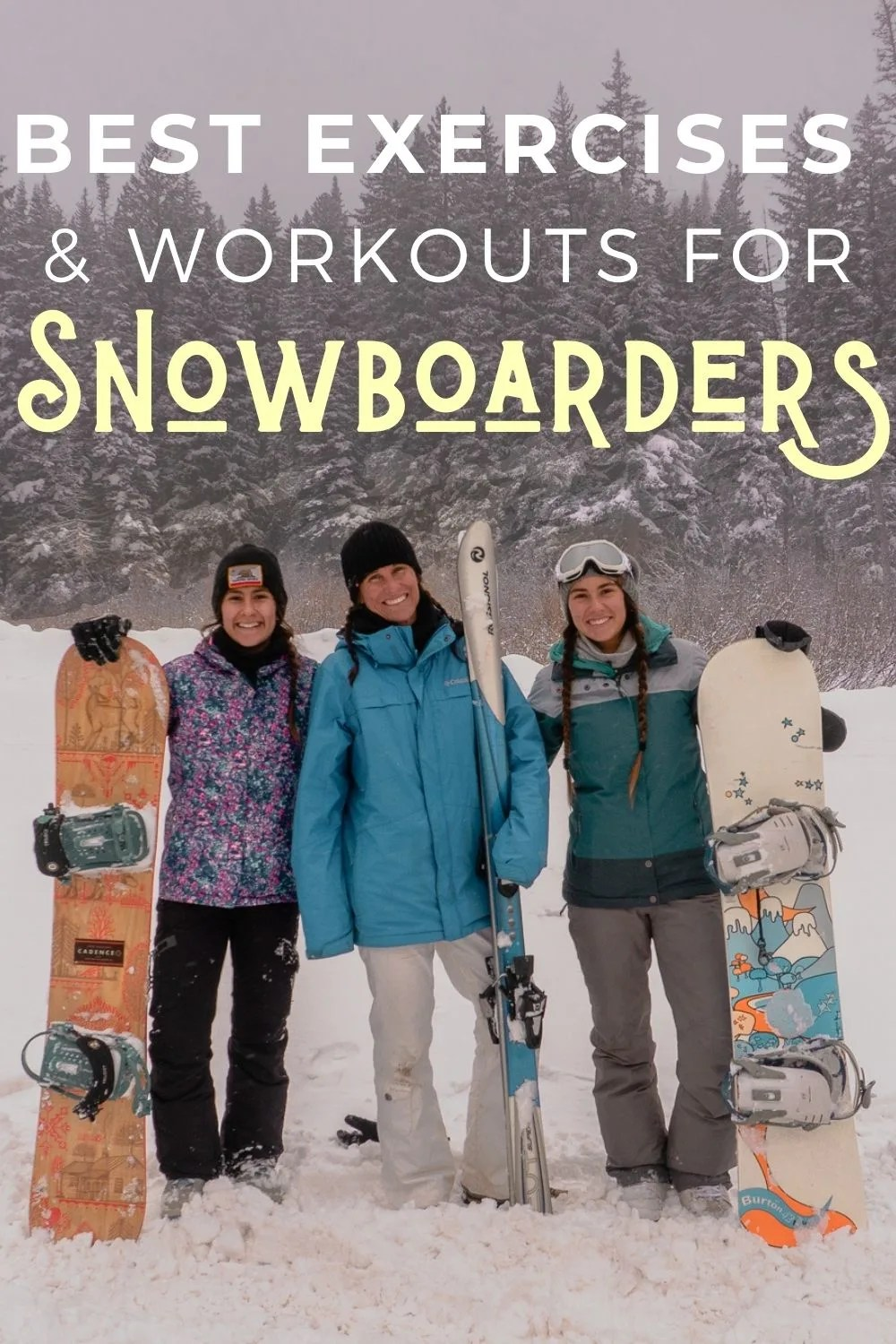 Best Exercises And Workouts For Snowboarders