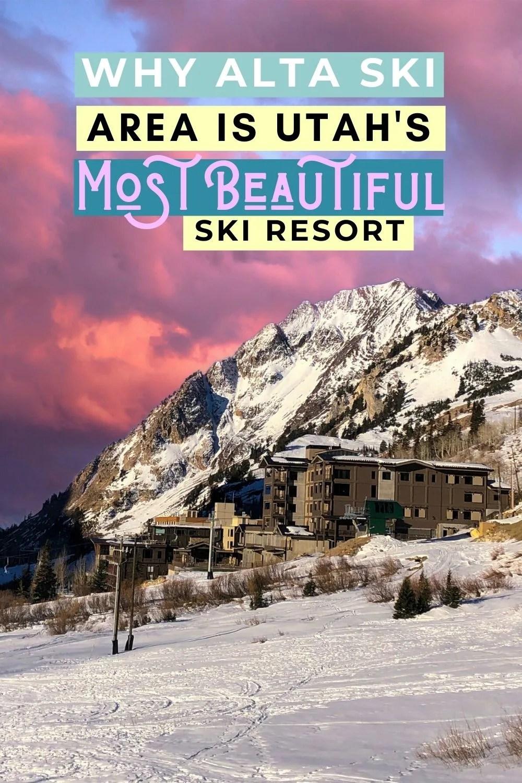 Why Alta is Utah's Most Beautiful Ski Resort
