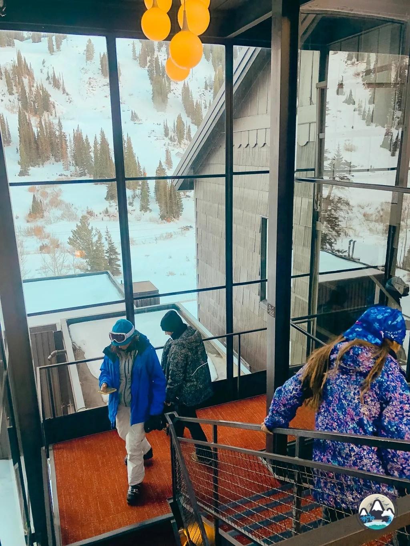 Ski in ski out at Alta Lodge