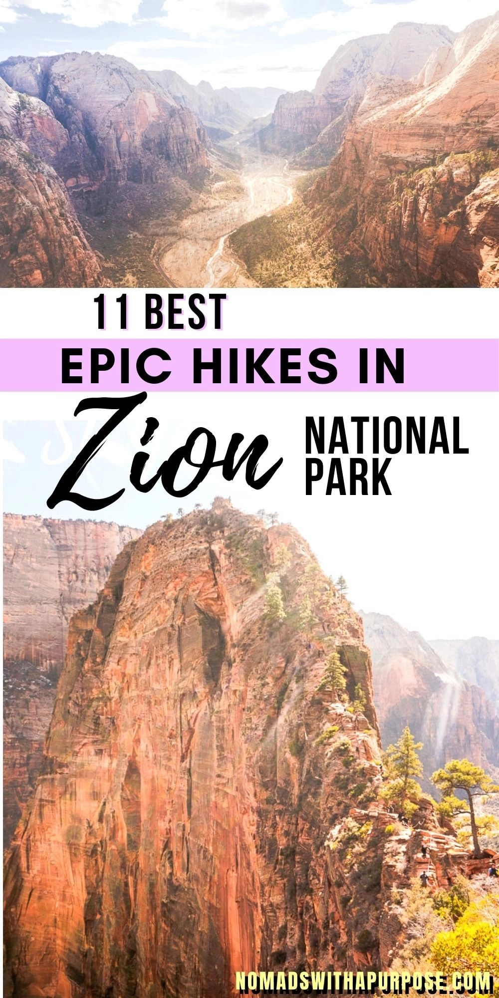 11 Best Epic Hikes in Zion