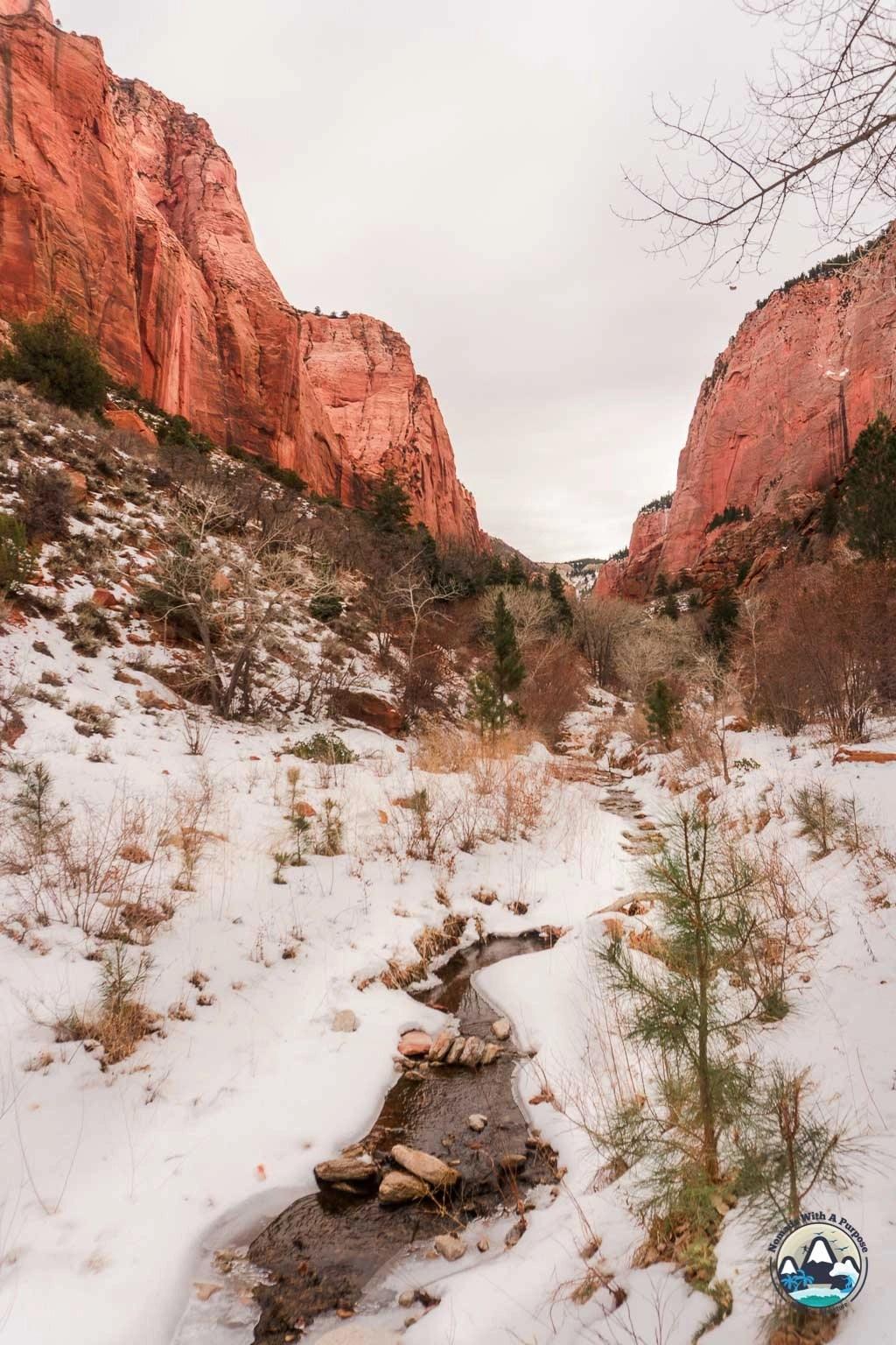 Kolob Canyon Winter Views, Zion National Park