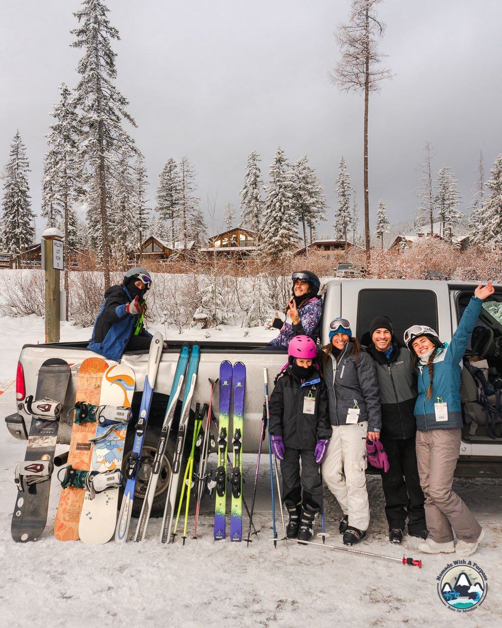 Whitefish Ski Resort, family skiing