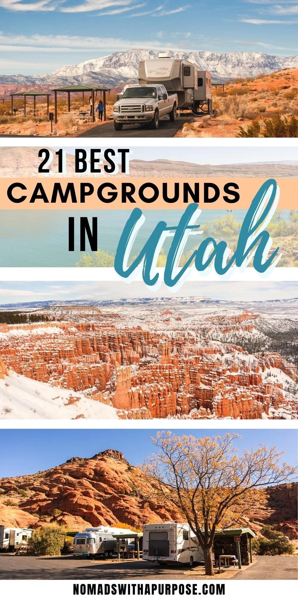 21 Best Campgrounds Utah