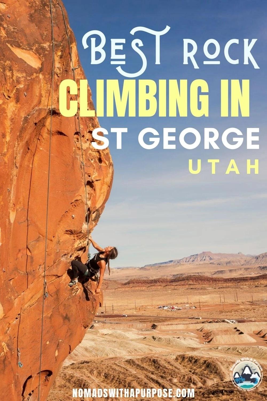 Best Rock Climbing St George