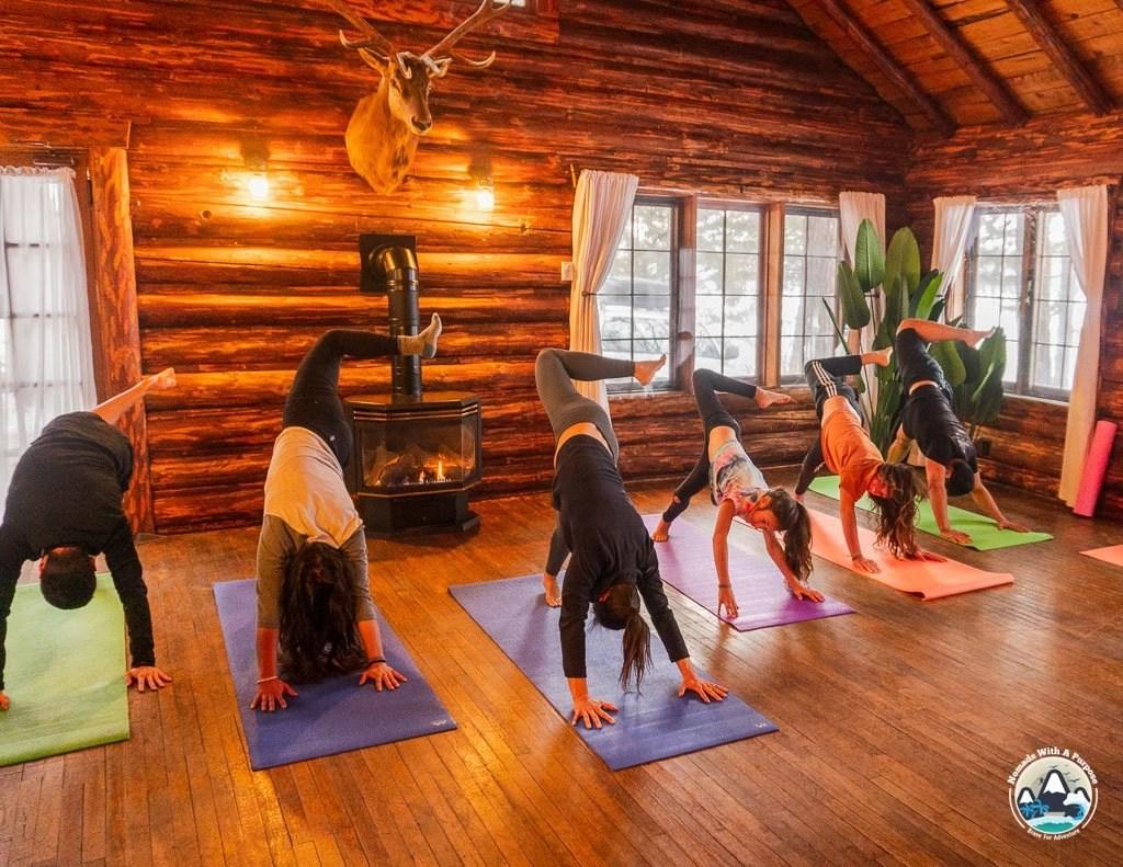 Yoga at Tamaracks Resort