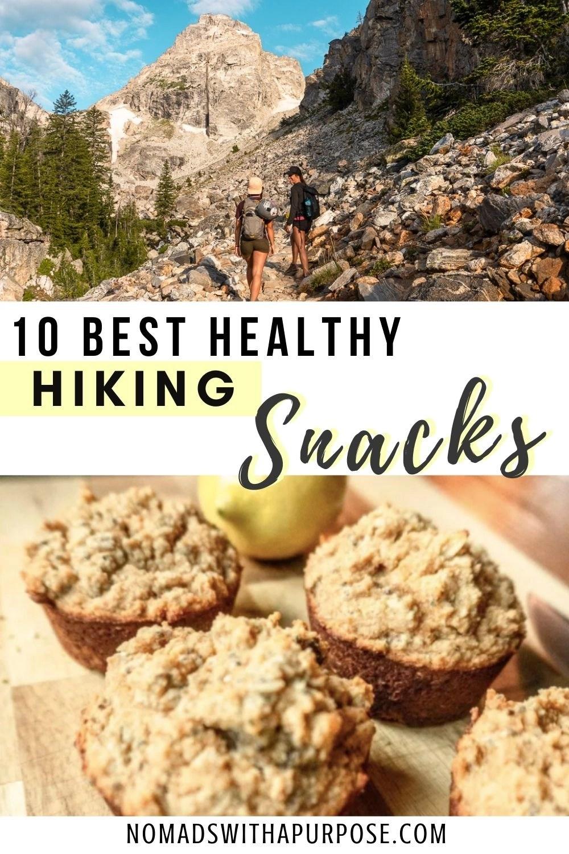 healthy hiking snacks