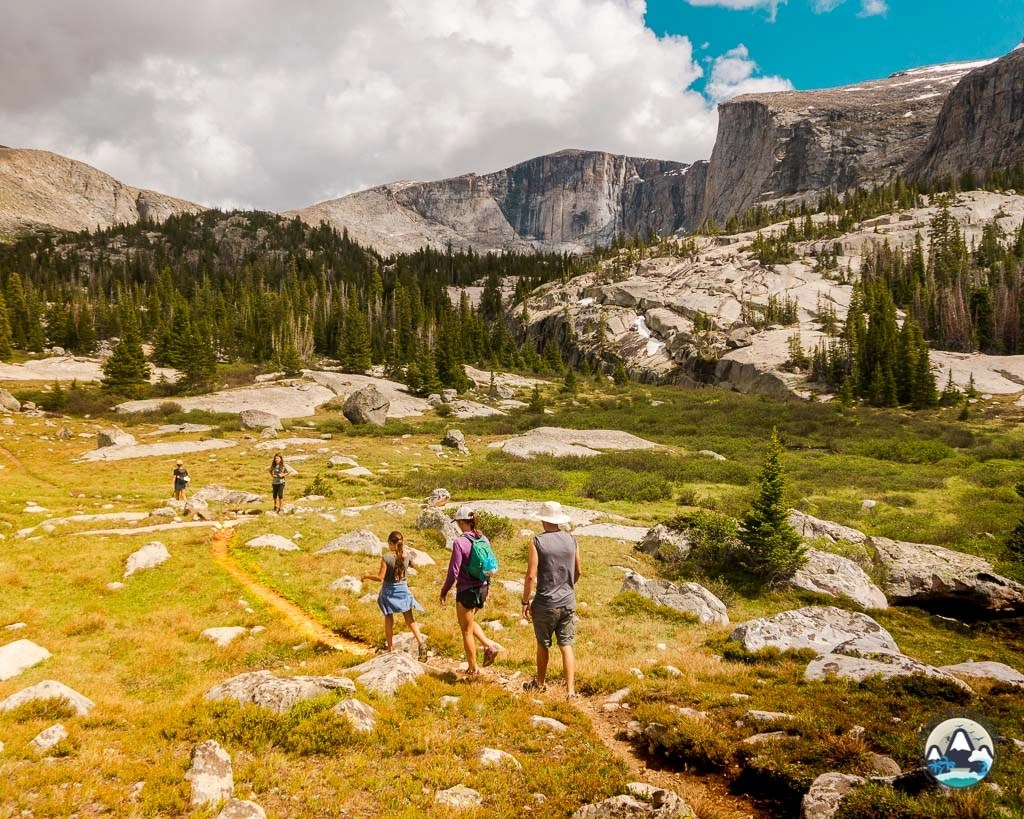 Lost Twin Lakes Hike, Wyoming