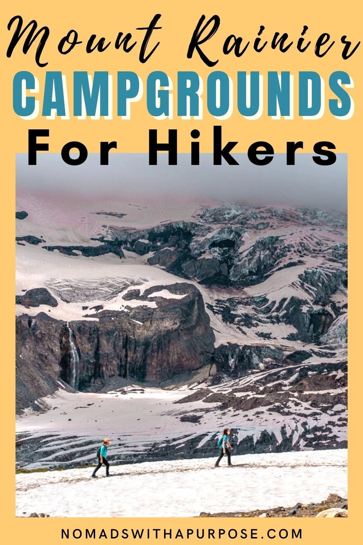 Mount Rainier Campground Pin