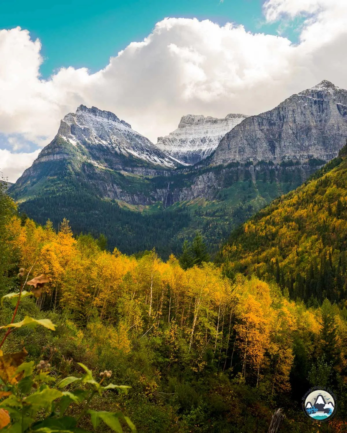 Going to the Sun Road, September Fall Colors