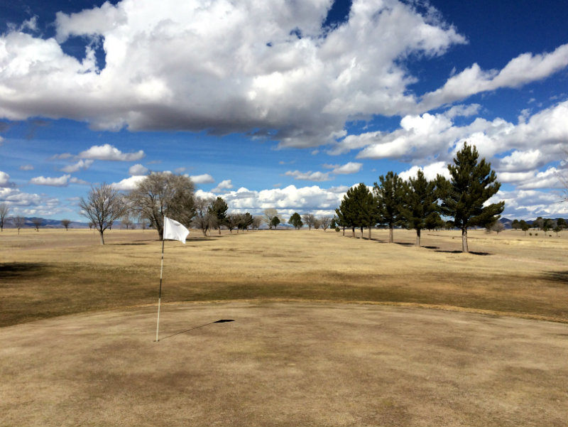 6th hole in Marfa