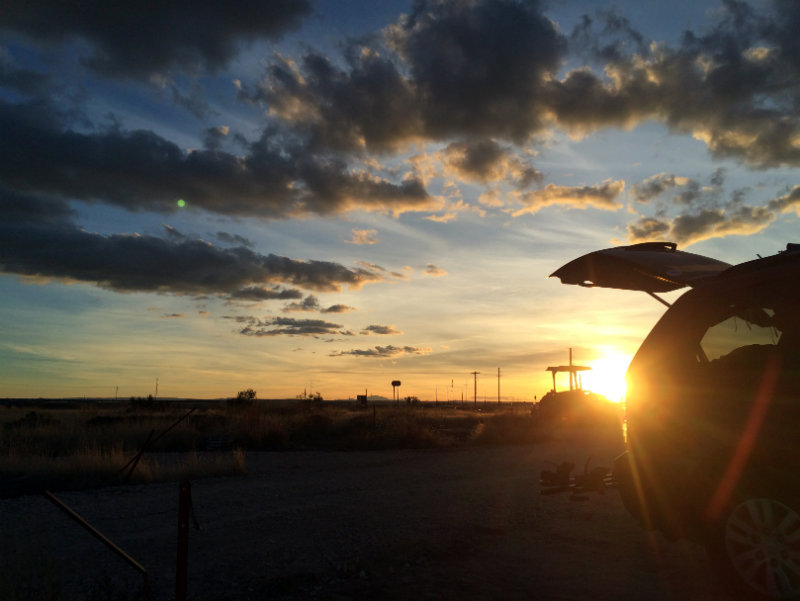 Marfa sunset