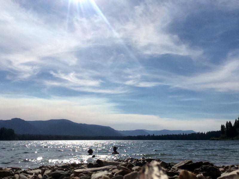 Swimming in Montana