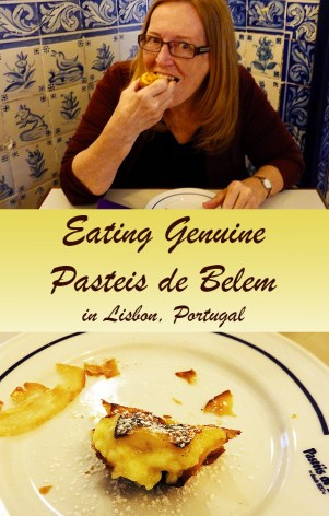 Eating Genuine Pasteis de Belem in Lisbon