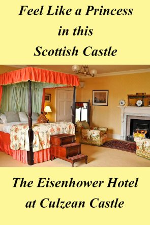 Pinnable image of the Eisenhower Hotel at Culzean Castle