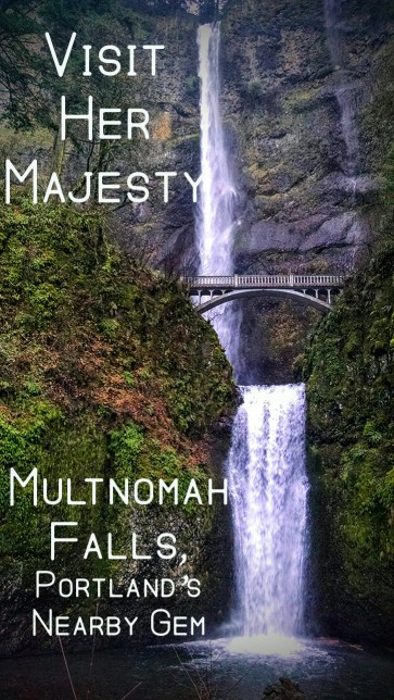 Pin for Multnomah Falls, Portland's Nearby Gem