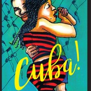The cover sketch of Ms. Baross Goes to Cuba gives you an idea of the delights inside.