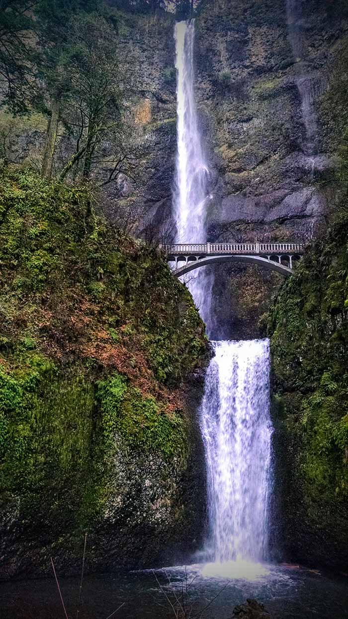 Multnomah Falls Oregon Winter Wallpaper Multnomah Falls Portland Oregon S Nearby Magic Maiden