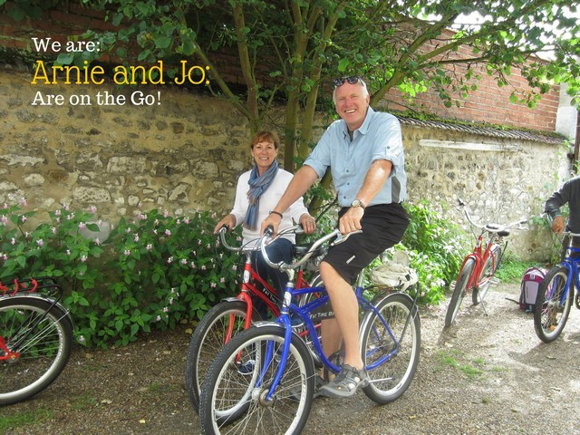 Arnie and Jo are On the Go!