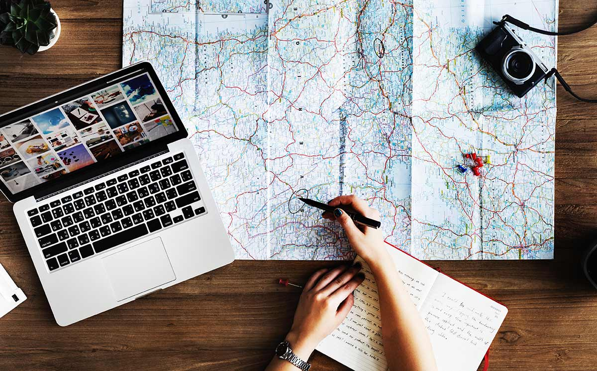 How to fill out the travel lists