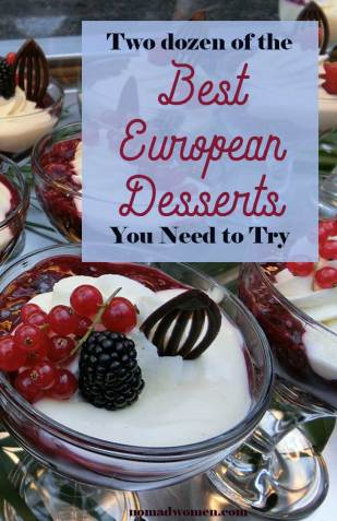 Pin with Rote Grutze from Northern German - 24 of the Best European Desserts you need to try.
