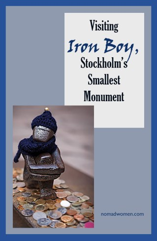 Pinnable image: Iron Boy, Stockholm's smallest monument