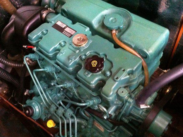 Altijd een spannend klusje, de motor winterklaar maken.