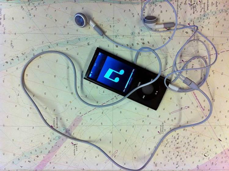 iPod in de kuip