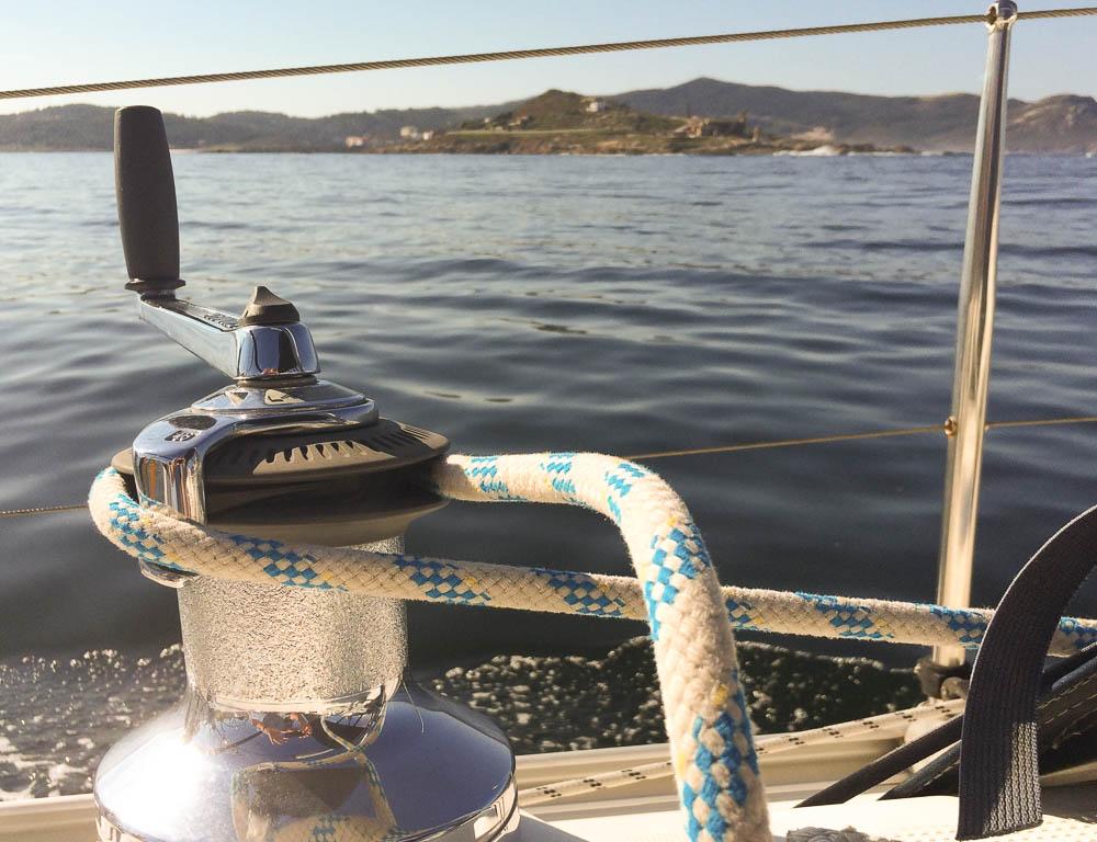 Weg met de boot
