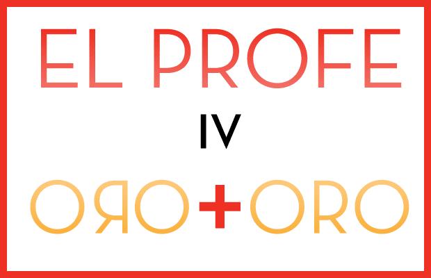 No Mas Palidas - El Profe IV