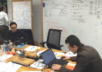 Design Sprint to innovate service with Telstra