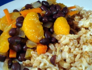 asian beans and rice photo 300x228
