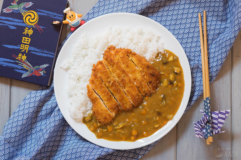 Katsukarē o curry japonés