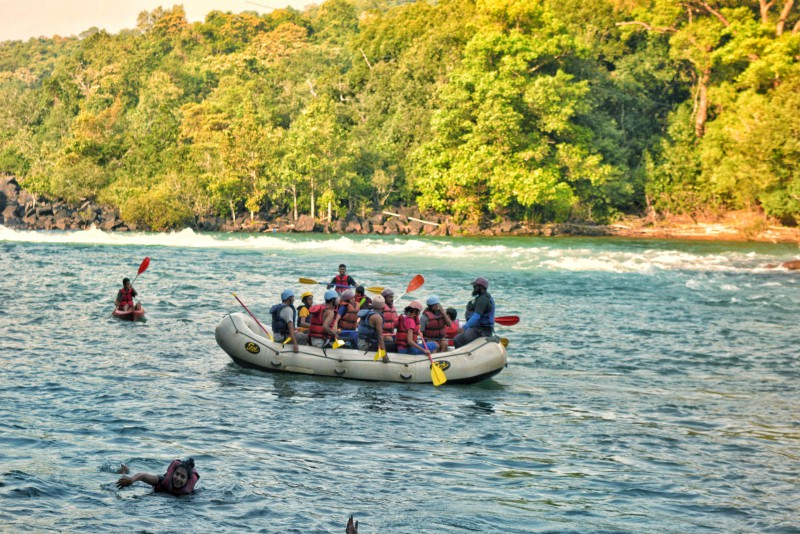 Rafting in Dandeli