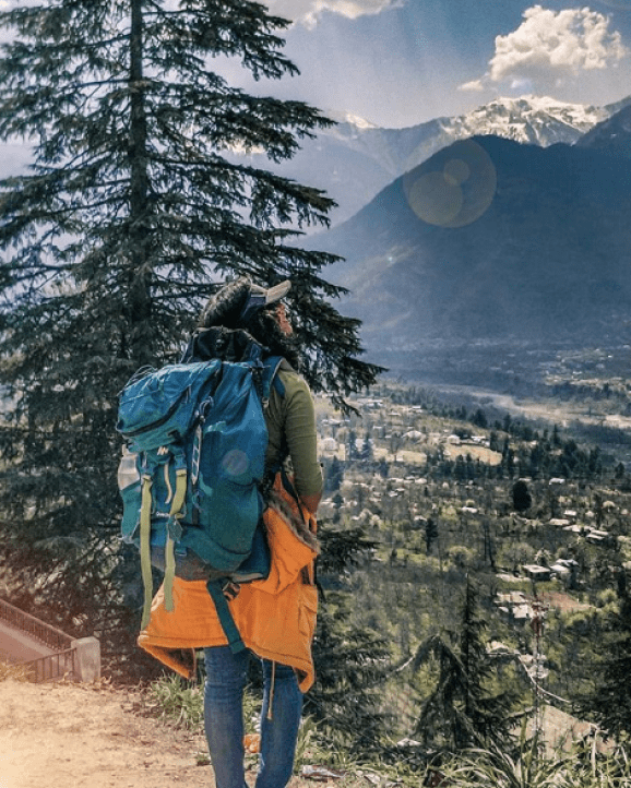 View from Naggar Castle in Dobhi